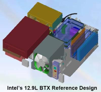 Базовый дизайн BTX системы S1 емкостью 12,9 литров