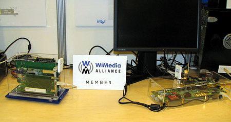 Прототип адаптера Wireless USB