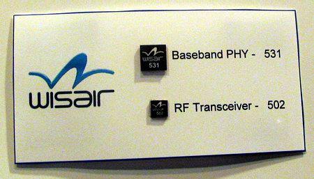 Первые чипы UWB производства компаний Wisair