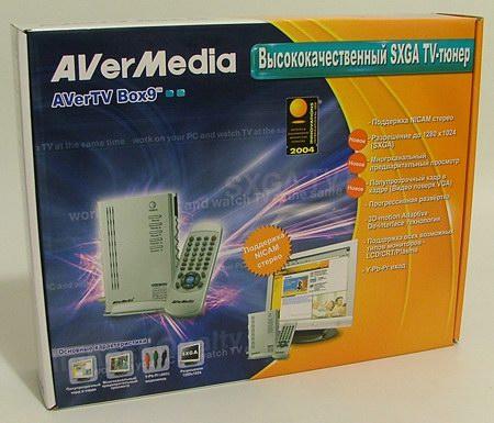 нет изображения avertv box9