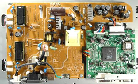 принципиальные электрические схемы мониторов