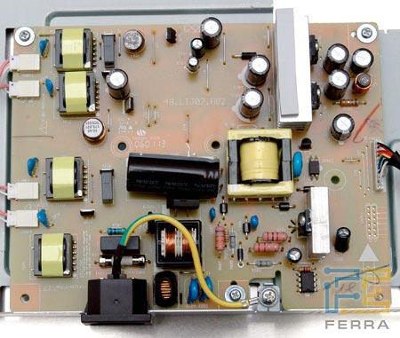 схема монитора benq fp93g.