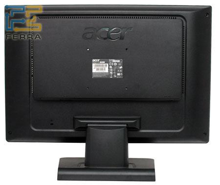Задняя панель Acer AL2416W