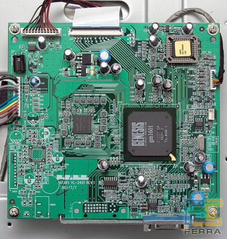 Плата контроллера Acer AL2416W.