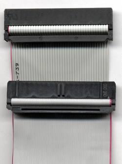 40-жильный и 80-жильный IDE-кабели