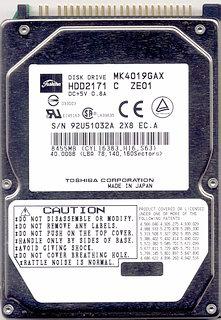 Toshiba MK4019GAX