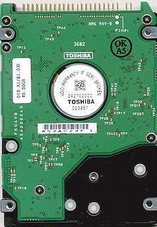 Toshiba MK4018GAS back