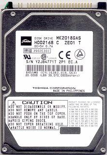 Toshiba MK2018GAS