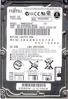 Fujitsu MHR202AT