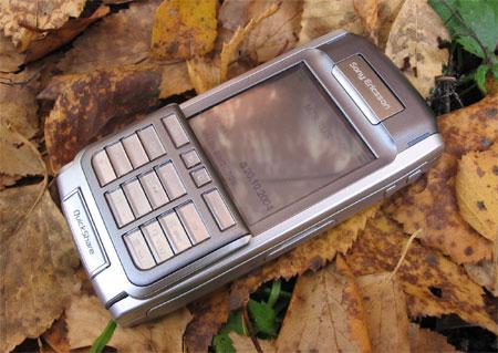 Sony Ericsson P910i в закрытом состоянии