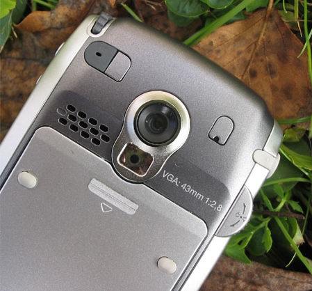 Sony Ericsson P910i - камера