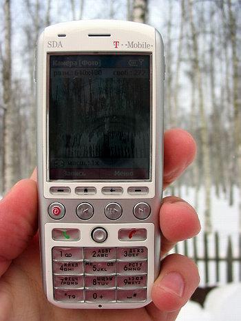 Камера в T-Mobile SDA Music