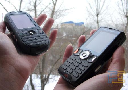 Музыкальные телефоны Sony Ericsson W810i и Motorola ROKR E2: тест-дуэль самых ожидаемых новинок среднего класса.