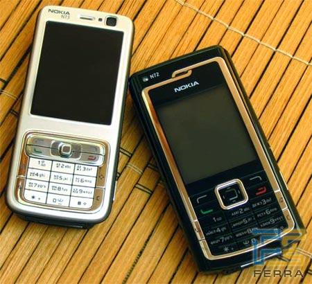 Ferra.ru - Nokia N72 и N73: двойное продолжение бестселлера