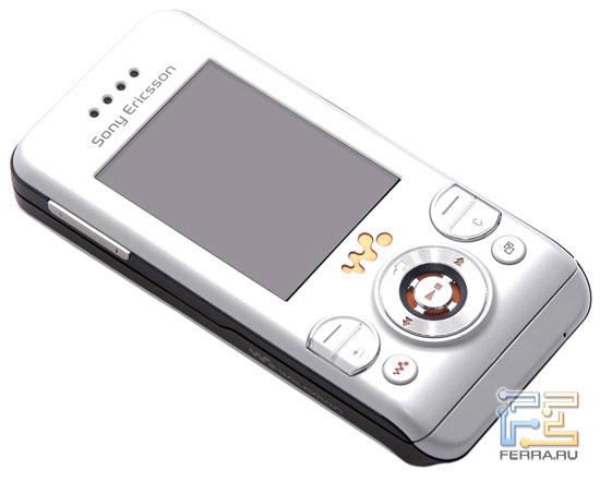 Дизайн Sony Ericsson W580i 1