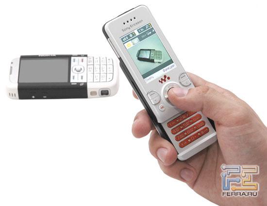 Съёмка Sony Ericsson W580i