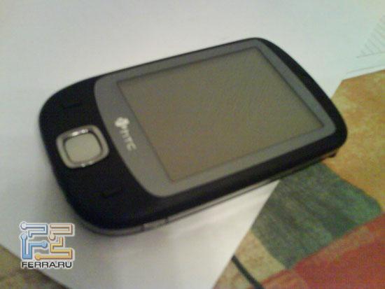 Первые в мире «живые» фотографии чёрного HTC P3450 (Elf), сделанные камерой Sony Ericsson W580i 1
