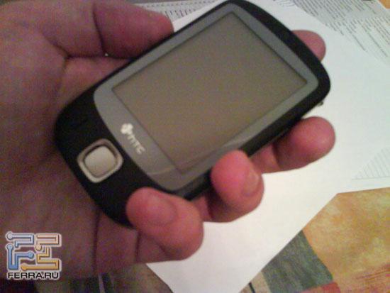 Первые в мире «живые» фотографии чёрного HTC P3450 (Elf), сделанные камерой Sony Ericsson W580i 2