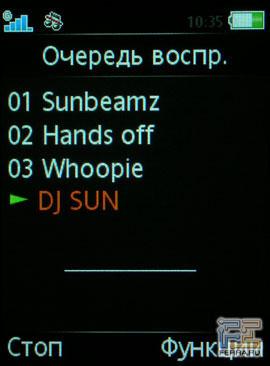 Пользовательский интерфейс Sony Ericsson W580i 4