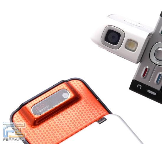 Сравнение Sony Ericsson W580i и Nokia 5700 в тестлабе Ferra.ru 3