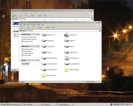 Классическая тема в Windows XP