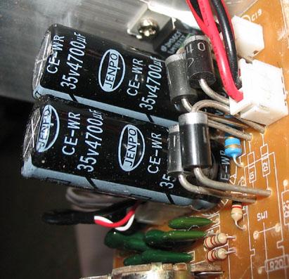 Фонит усилитель на LM1875T