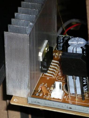 схема усилителя на tda7265 - Микросхемы.