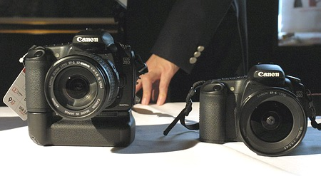 Photokina 2004: Canon_D20 With Lenses.jpg