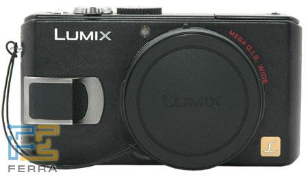 LUMIX DMC LX-2: вид спереди