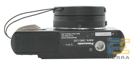 LUMIX DMC LX-2: вид снизу