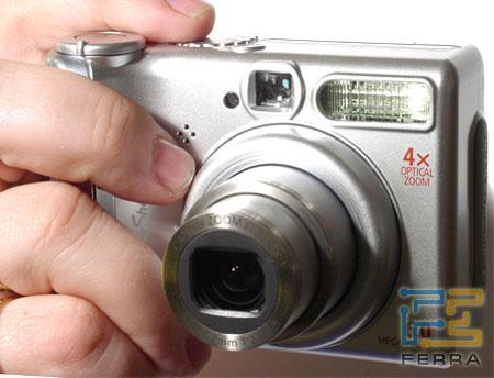 Canon PowerShot A540: объёмистый,  но удобный 1