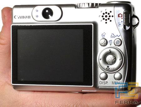 Canon PowerShot A540: объёмистый, но удобный 2