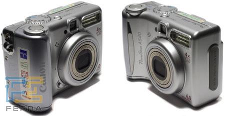 Canon PowerShot A540: все кнопки на месте 1