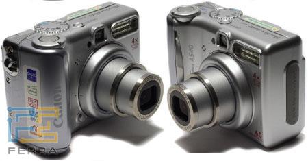 Canon PowerShot A540: все кнопки на месте 2