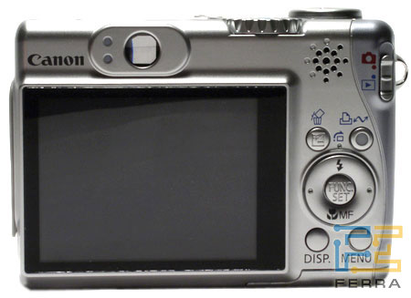 Canon PowerShot A540: аверс, реверс и объектив 3