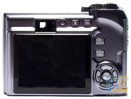 Olympus SP-320: объектив, видоискатель и ЖК-дисплей 2