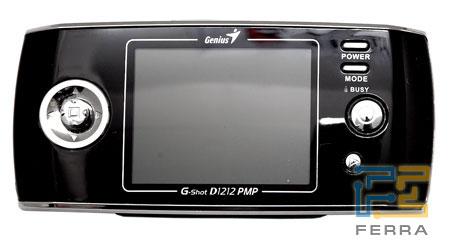 Genius G-Shot D1212 PMP: вид спереди