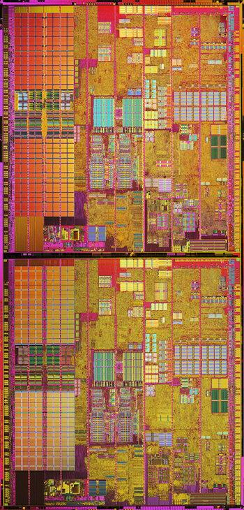 Intel Smithfield чип