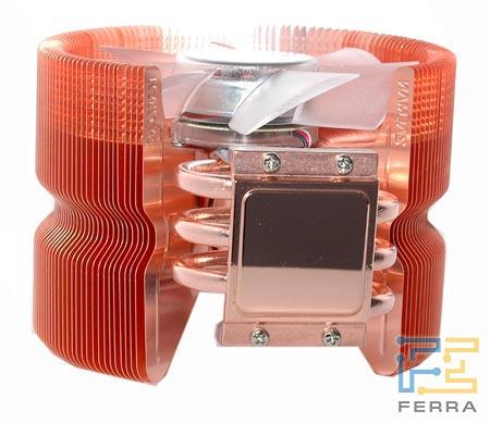 Кулер CNPS9700 LED, вид снизу