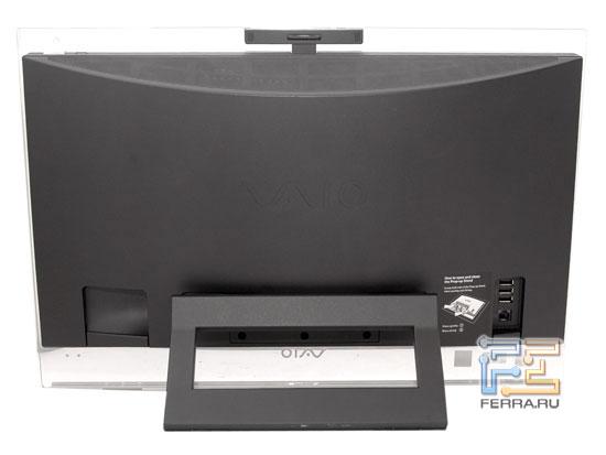 Sony VAIO LA2: вид сзади