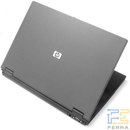 HP Compaq nx7400: общий вид сзади