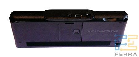 Nokia 770: нижний торец