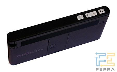 Nokia 770: верхний торец