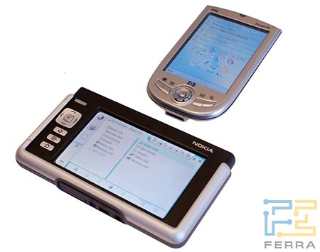 Nokia 770 и HP iPAQ 1940