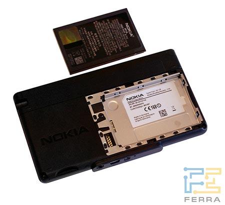 Nokia 770: аккумулятор