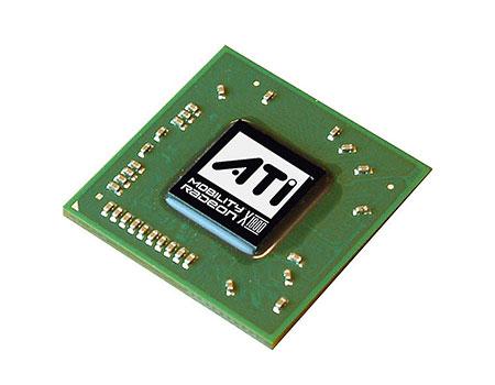 ATI Mobility Radeon X1800: фото чипа