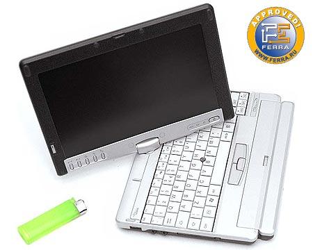 Fujitsu Siemens Lifebook P1510: ультракомпактный ноутбук-трансформер