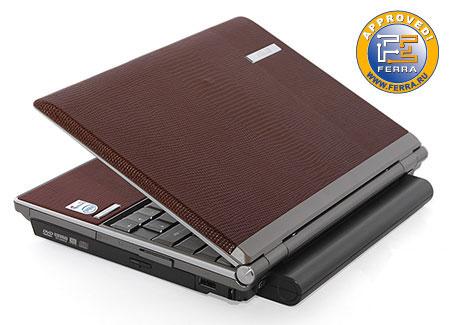 ASUS S6F: кожаный ноутбук