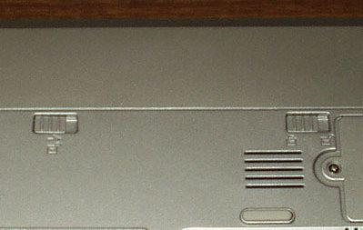 Bliss 502c - отсек батареи
