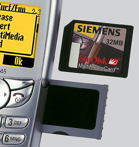 смартфон Siemens SL45